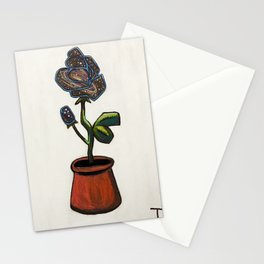 Infinity Rose Stationery Cards