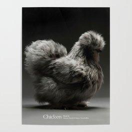 Chic!ken - Silkie Bantam Poster