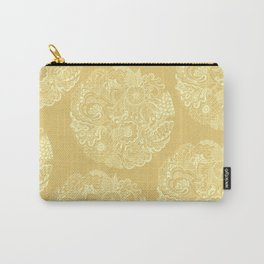 Circle (yellow) Carry-All Pouch