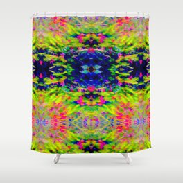 2705 Pattern by hedge Shower Curtain