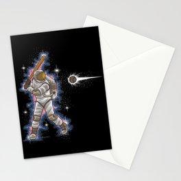Astronaut Baseball Player | Galaxy Team Sport Stationery Cards