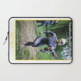 GET SET of Transitions through Triathlon Laptop Sleeve