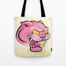 Pink Panther Tattoo Flash Tote Bag