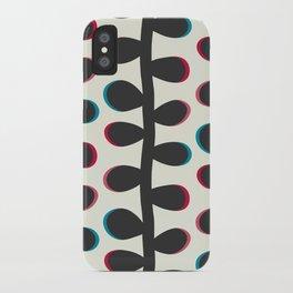 Like a Leaf [black] iPhone Case