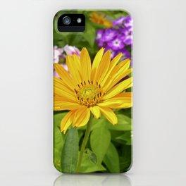 garden flower II iPhone Case