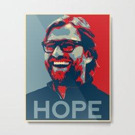 Klopp Hop - Liverpool FC Metal Print