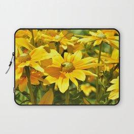 Yellow flowers 042 Laptop Sleeve