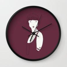 Keep Young And Beautiful Wall Clock