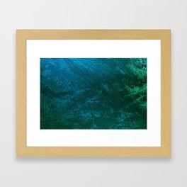 Ferns pattern Framed Art Print