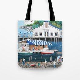 Laughing Gulls Landing Tote Bag