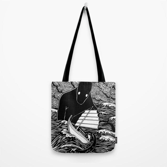 Umibōzu 海坊主 Tote Bag