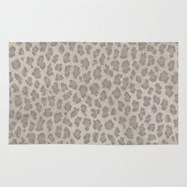 Vintage grange pastel color leopard print Rug
