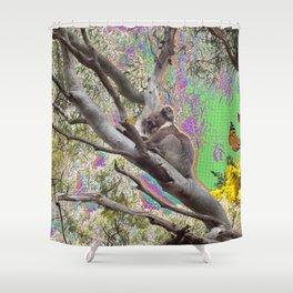 Koalarama! Shower Curtain
