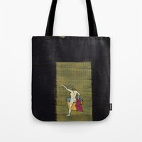 degas Tote Bags featuring The Bath by Dawn Patel Art