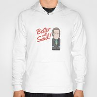 better call saul Hoodies featuring Better Call Saul by Big Purple Glasses