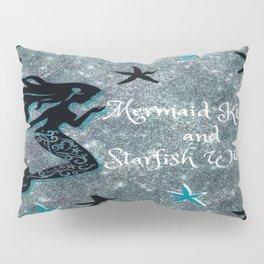 Mermaids and Starfish Pillow Sham
