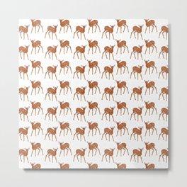 deer how dear Metal Print