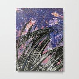 Blue + Purple (MPH) Metal Print
