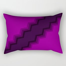 Miasmic Collisions Rectangular Pillow