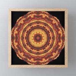 Kaleidoscope pleasant evening Framed Mini Art Print