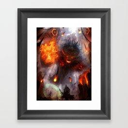 To Hunt Gods Framed Art Print
