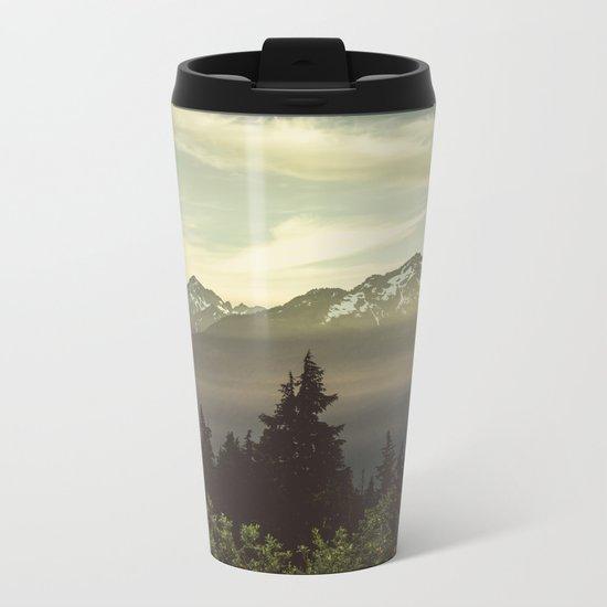 Morning in the Mountains Metal Travel Mug
