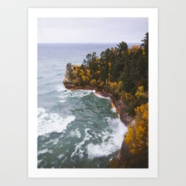 Miners Castle | Pictured Rocks National Lakeshore, Michigan | John Hill Photography Art Print