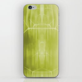 Lime turbines iPhone Skin