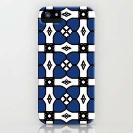 Little Blue Flowers iPhone Case