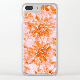 The Smell of Spring 3 / Monochrome / Apricot Clear iPhone Case