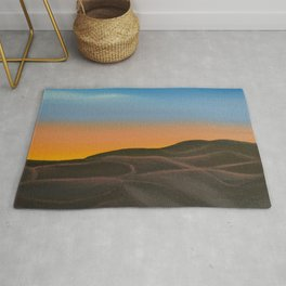 Desert at Dawn / Oil Painting Rug