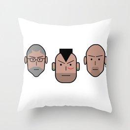 Gomorralaserie Throw Pillow
