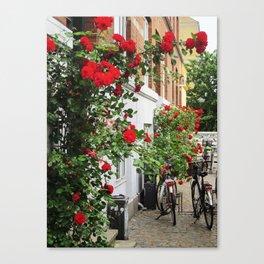 Roses in Copenhagen Canvas Print