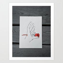 Love Hurts Art Print