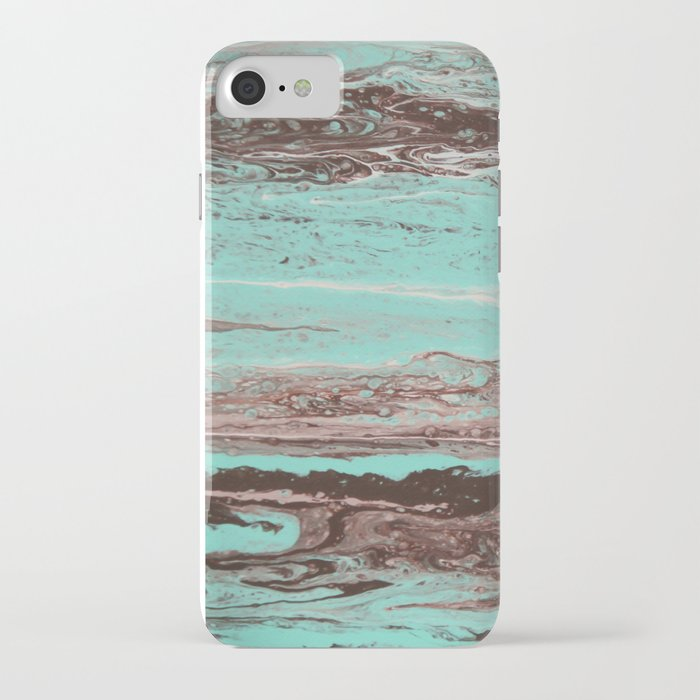 Tidal Shifts of Dawn and Dusk iPhone Case