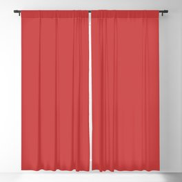 Cranberry Red Solid Color Trend Autumn Winter 2019 2020 Blackout Curtain