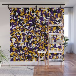 Paint camouflage Wall Mural