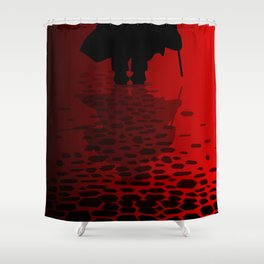 Ripper Reflection Shower Curtain