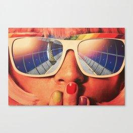 Future Girl Canvas Print