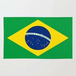 Flag of Brazil Rug