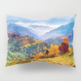 Autumn in the mountains Pillow Sham