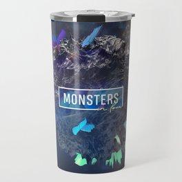 Monsters in Love Travel Mug