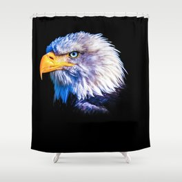 The eagle eye Shower Curtain