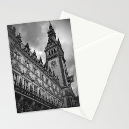 Hamburg Black and White Stationery Cards