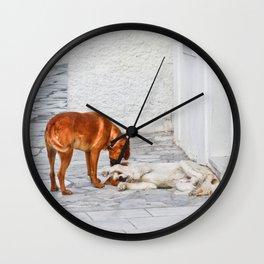 Good Morning My Dear! Wall Clock
