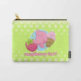 Raspberry Fluff Carry-All Pouch
