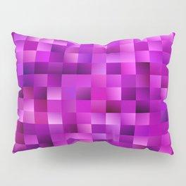 Purple rectangle pattern Pillow Sham