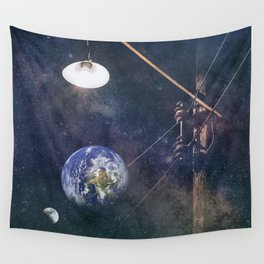 Earth hour Wall Tapestry