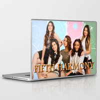 fifth harmony Laptop & iPad Skins featuring fifth harmony best design home decoration ideas by customgift