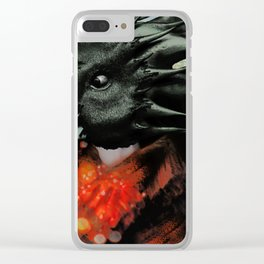 Raven Magician Clear iPhone Case